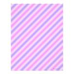 Rosa y papel pelado púrpura del libro de recuerdos membrete a diseño