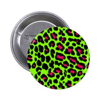 Rosa y Pin del leopardo de la cal