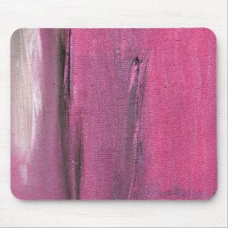 Rosa y pintura abstracta gris de Colorscape Alfombrilla De Ratón