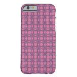 rosa y púrpura funda de iPhone 6 barely there