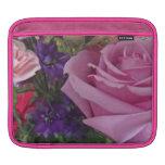 Rosa y púrpura manga de iPad