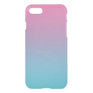 Rosa y turquesa Ombre Funda Para iPhone 7