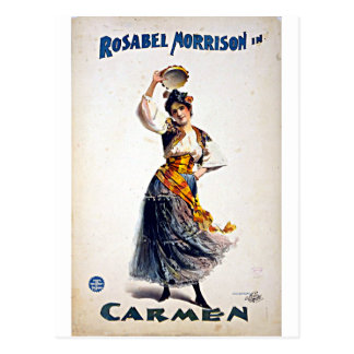 Rosabel Morrison in Carmen Postcard