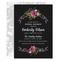 Bridal shower invitation cards at wedding paper love rosabella floral spring wedding bridal shower invitation filmwisefo