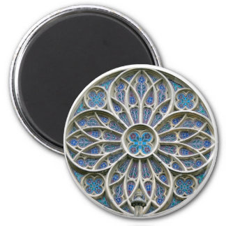 Rosace Gothic vrsac church rosette serbia cathedra Magnet