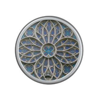 Rosace Gothic vrsac church rosette serbia cathedra Speaker
