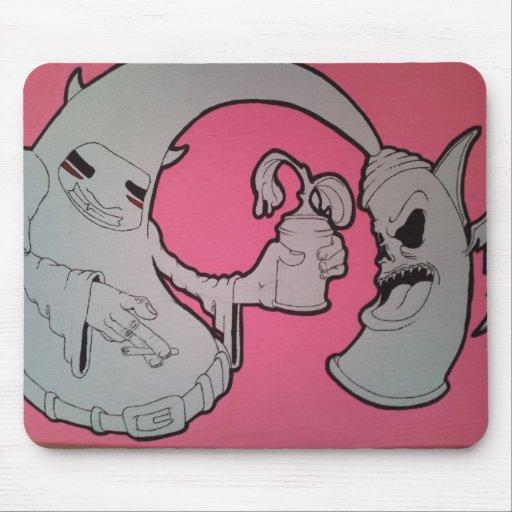 rosado alfombrillas de ratón