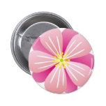 rosado-Hibiscos tropicales de la flor Pin