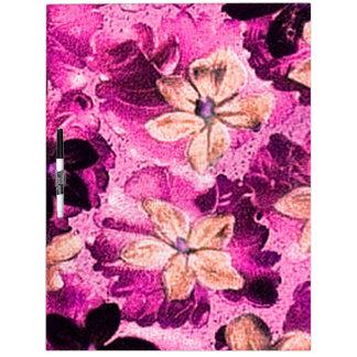 Rosados magentas de las violetas del vintage secan tablero blanco