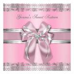 Rosados y de plata con clase invitan comunicados