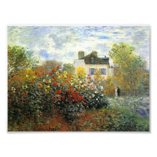 Rosaleda de Monet Impresiones Fotográficas