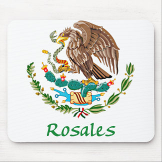Rosales Mexican National Seal Mouse Pad
