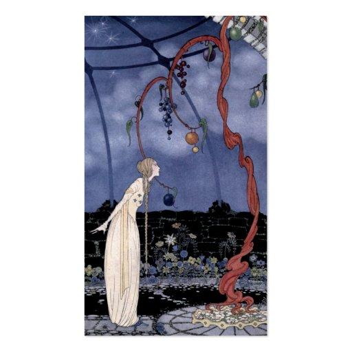 Rosalía vio un árbol maravilloso plantilla de tarjeta personal