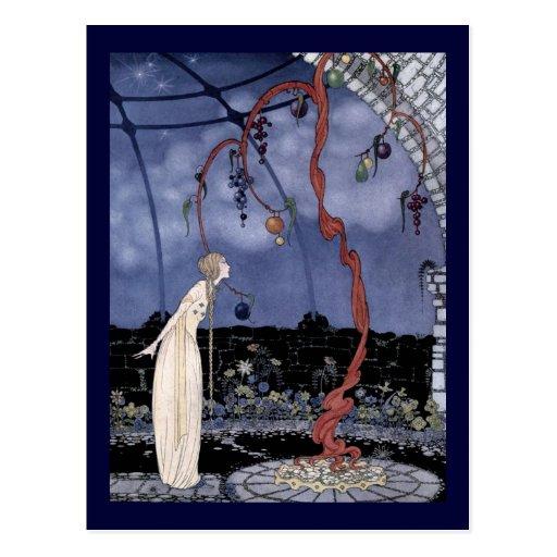 Rosalía vio un árbol maravilloso tarjeta postal