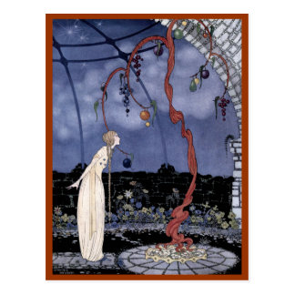 Rosalie and the Magic Plum Tree Postcard
