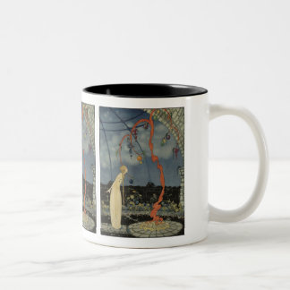 Rosalie saw before her eyes a marvellous tree Two-Tone coffee mug