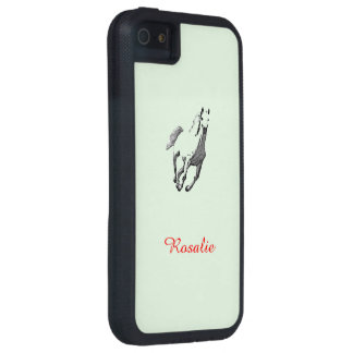 Rosalie's iPhone 5 case with Wild Horse