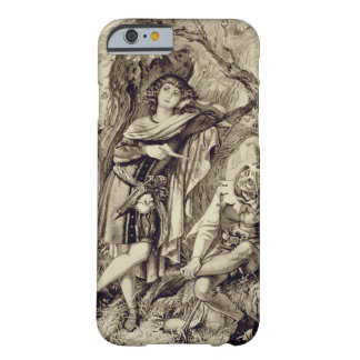 Rosalind and Touchstone, Act III Scene 2, in As Yo Barely There iPhone 6 Case