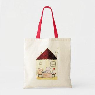 Rosalinde Bonnet Grocery Tote Bag