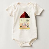Rosalinde Bonnet Organic Baby Bodysuit