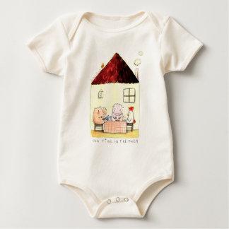 Rosalinde Bonnet Organic Baby Bodysuits