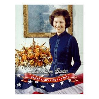 Rosalynn Carretero, primera señora de los E.E.U.U. Tarjeta Postal