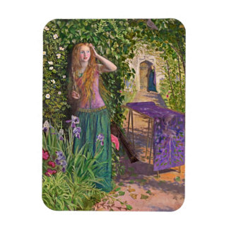 Rosamond justo en la glorieta imán foto rectangular