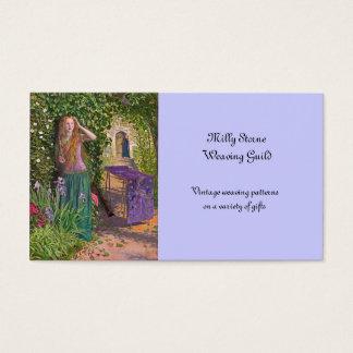 Rosamond justo en la glorieta tarjetas de visita