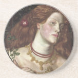 Rosamund justo - Dante Gabriel Rossetti Posavasos Cerveza