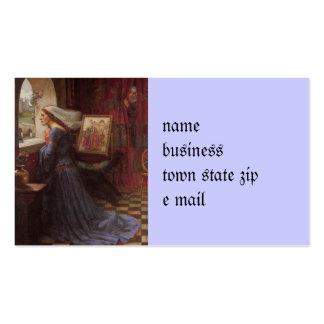 Rosamund justo en la ventana tarjetas de visita