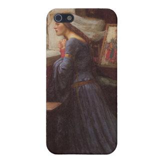 Rosamund justo - John William Waterhouse iPhone 5 Carcasas