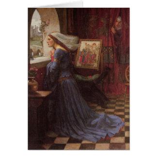 Rosamund justo - John William Waterhouse Tarjeta De Felicitación