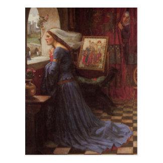 Rosamund justo tarjeta postal
