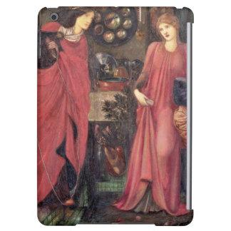 Rosamund justo y reina Eleanor (técnicas mixtas en