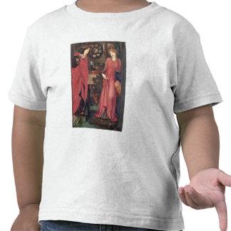 Rosamund justo y reina Eleanor técnicas mixtas en Camisetas