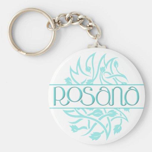 Rosana blue decor Keychain