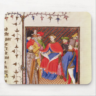 Rosane replies to the envoys from the people mouse pad