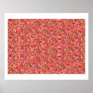 ROSANI Rose Energy Oriental Decorative Pallet Print