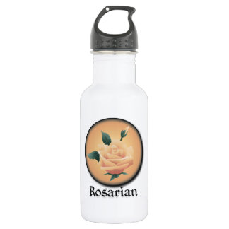 Rosarian Peach Stainless Steel Water Bottle