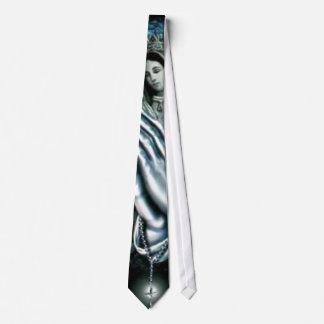 Rosario bendecido del Virgen María Corbata Personalizada