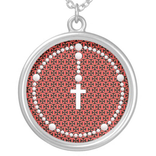 Rosario con el modelo de la cruz del hierro joyerias