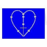 Rosario del diamante - saludo Maria por completo d Tarjeton