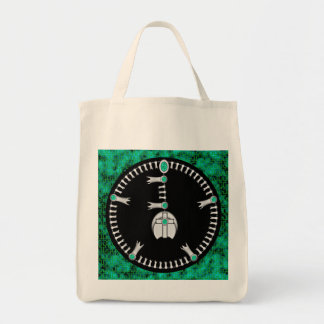 Rosario del flor de la calabaza bolsa tela para la compra