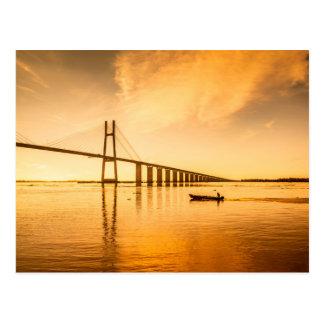 Rosario Victoria Bridge Postcard