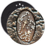 Rosary 6 Inch Round Button