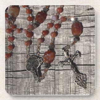 Rosary Beads Coasters