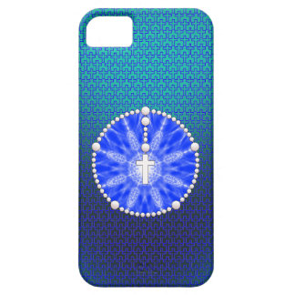 Rosary Dream Catcher Blue iPhone SE/5/5s Case