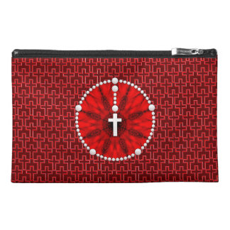 Rosary Dream Catcher Red Travel Accessories Bags