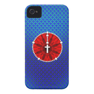 Rosary Dream Catcher Red iPhone 4 Cases