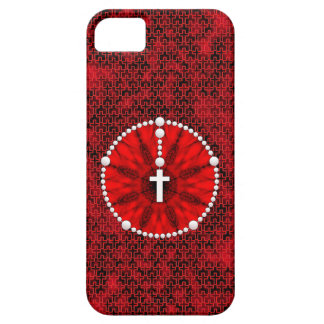 Rosary Dream Catcher Red iPhone SE/5/5s Case